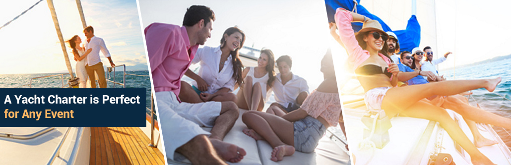 Perfect Yacht Charter for Event