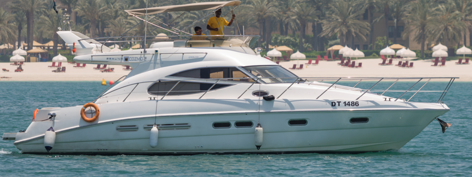 45 Feet Yacht - Cruise through Atlantis the Palm & One & Only