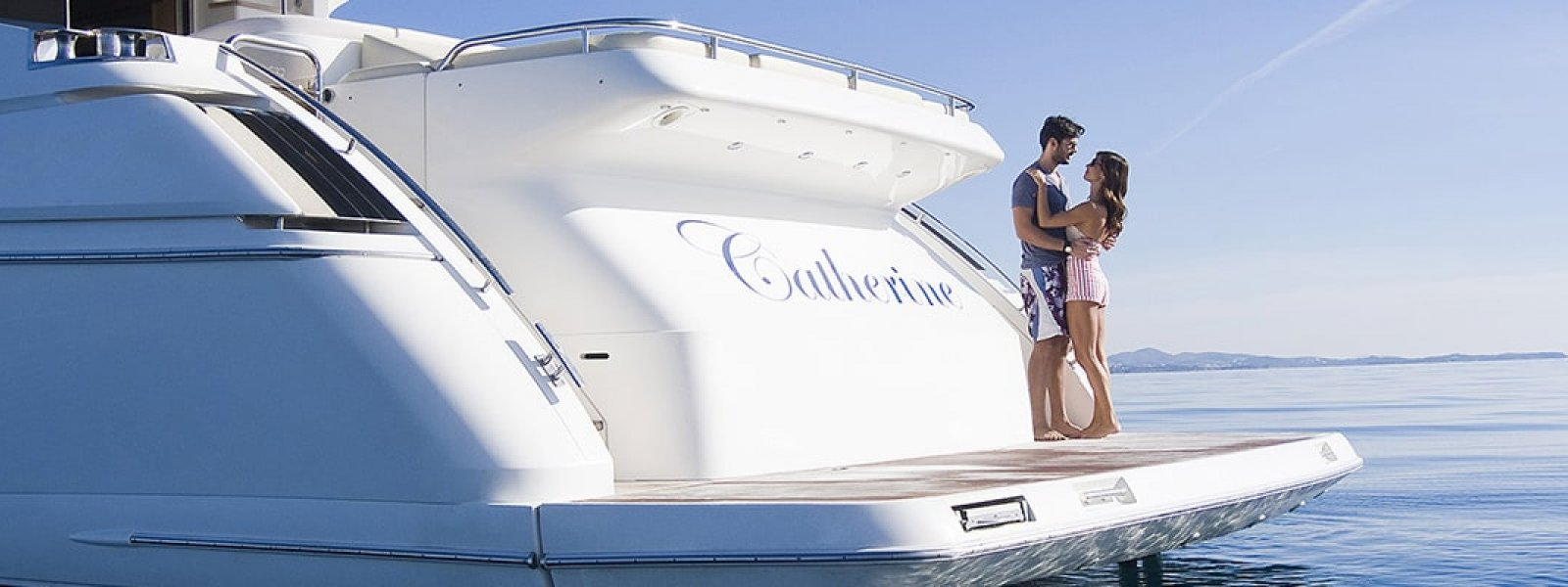 Feeling Romantic on Luxury Yacht by Cozmo Yachts Charter Dubai