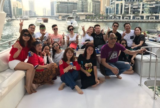Dubai Yacht Trip Group 1