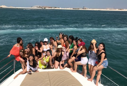 Dubai Yacht Trip Group 2
