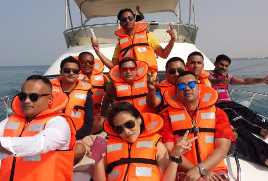 Dubai Yacht Trip Group 6