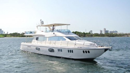 Chartered luxury yacht for dubai cruise