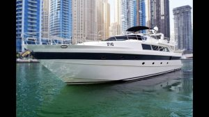 88 Feet Luxury Yacht With Jacuzzi For Rental in Dubai