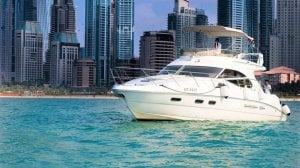 Charter Cozmo 45 Sealine Yacht - Avail Luxury Yacht Rental in Affordable Cost