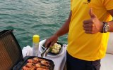 preparing food for you on yacht trip