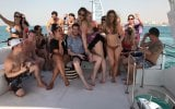 Party Yacht Rental Group 4