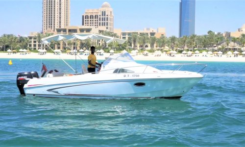Book 30 feet mini boat for new year eve in Dubai